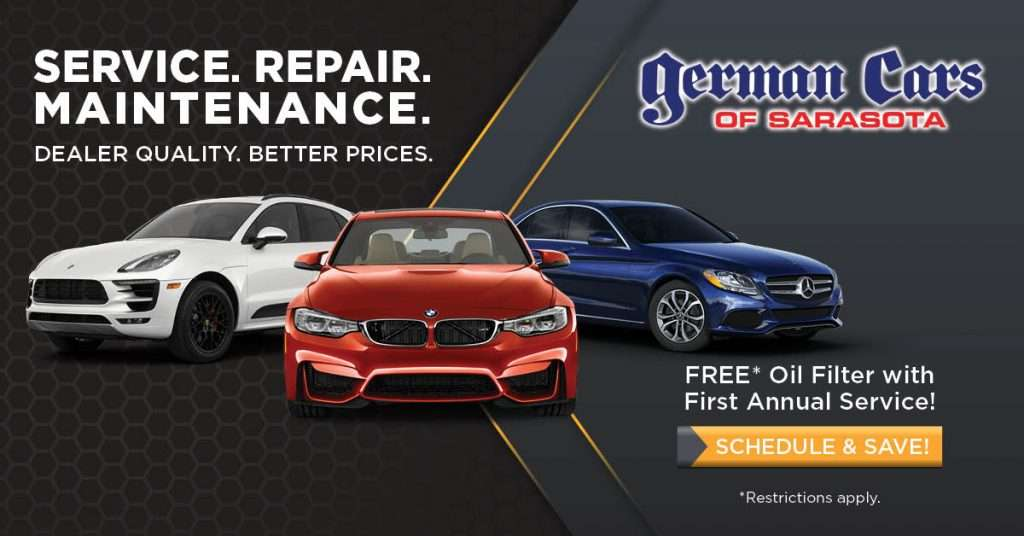 German Cars of Sarasota provides expert BMW repair, Mercedes-Benz service, Mini Cooper maintenance, and Porsche service by ASE Certified technicians...